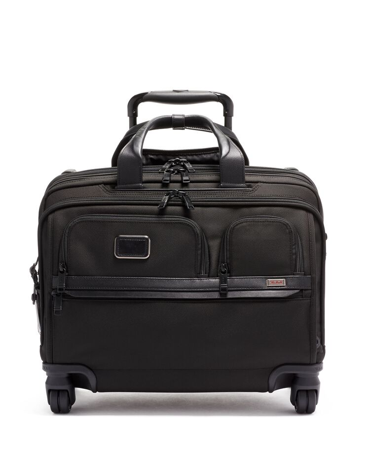 TUMI ALPHA DLX 4 WHL LPTP CASE BRIEF  hi-res | TUMI